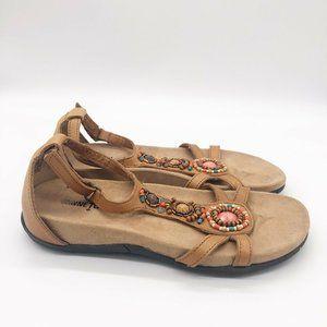 Minnetonka Women's Bayshore Jeweled Dress Sandals